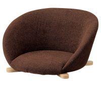 月船座椅子  木部色14色より選択   【張地・合成皮革Aランク】