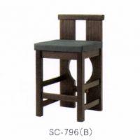 SC-796 B 合成皮革張込み商品   主材ツガ お見積商品