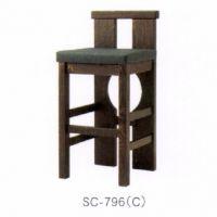SC-796 C 合成皮革張込み商品  主材ツガ お見積リ商品