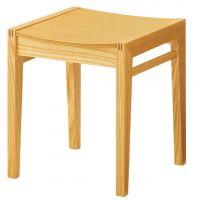 チリオ1 プライウッド、座面オーク突板合板  木部色2色より選択