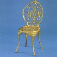 HOT ゴールド  がーデンチェア      アルミ鋳物製品